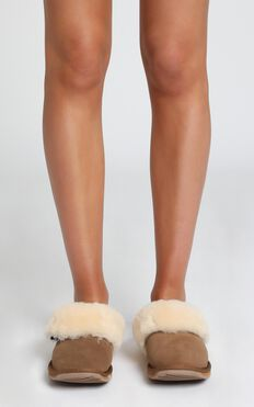 EMU Australia - Platinum Eden Slippers in Chestnut