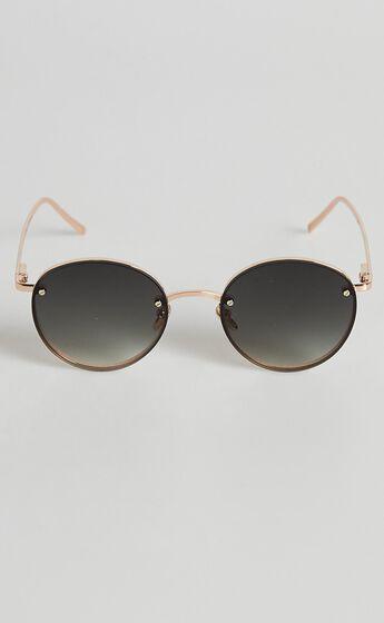 Reality Eyewear - Instant Karma Sunglasses in Gold