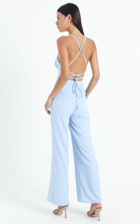 Dream Of Jumpsuit In Light Blue