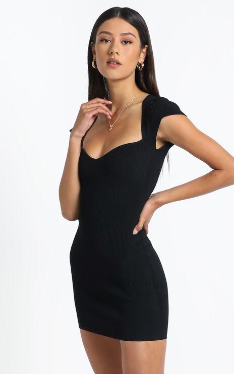 Ellenor Dress in Black