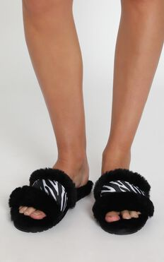 EMU Australia - Wrenlette Animal Slippers In Black