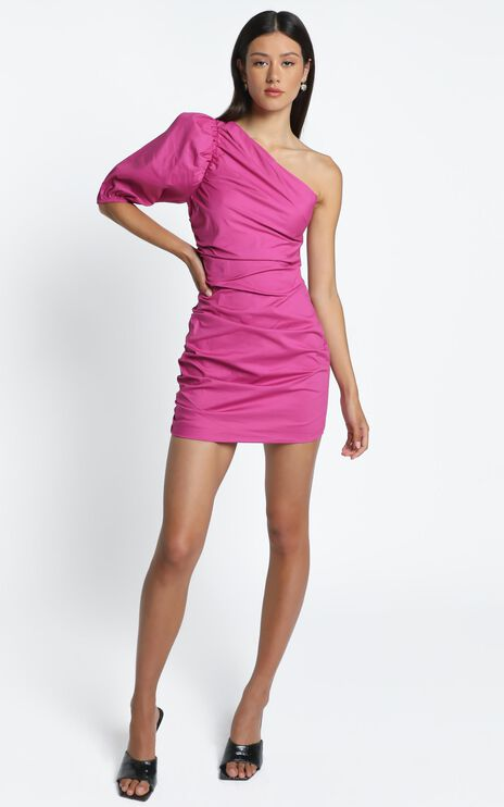 Lexia Dress in Pink