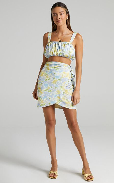 Elendil Skirt in Summer Petals