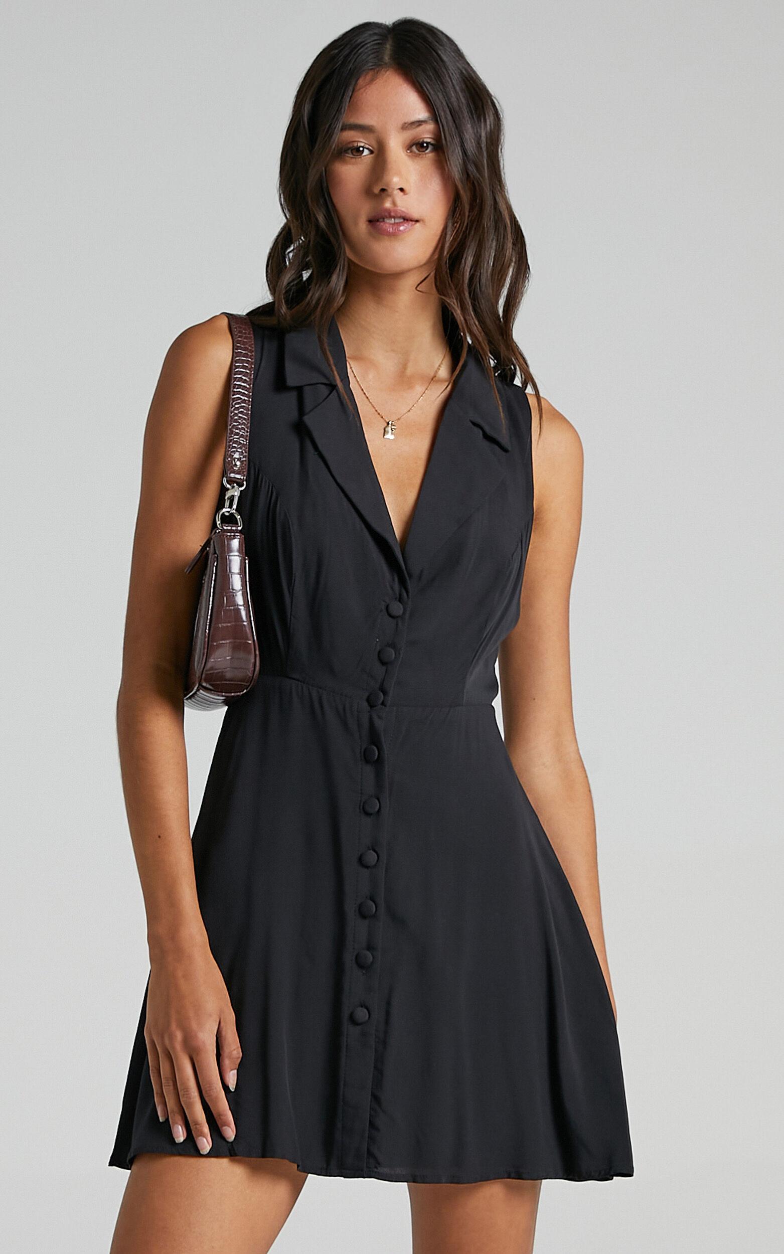 Nimos Dress in Black - 06, BLK1, super-hi-res image number null