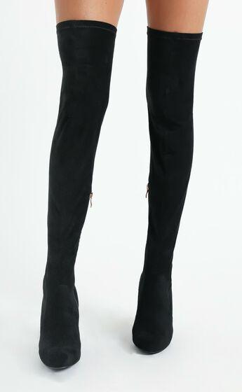 Billini - Piper Boots in Black Suede