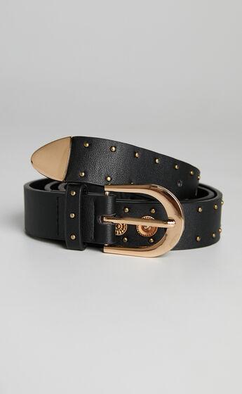 Clyde Belt in Black
