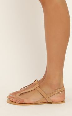 Billini - Morocco Sandals In Camel Nubuck