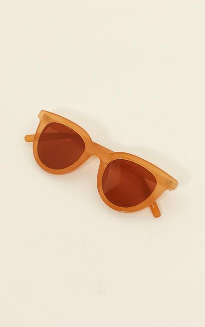MinkPink - Savvy Sunglasses In Ginger, , hi-res image number null