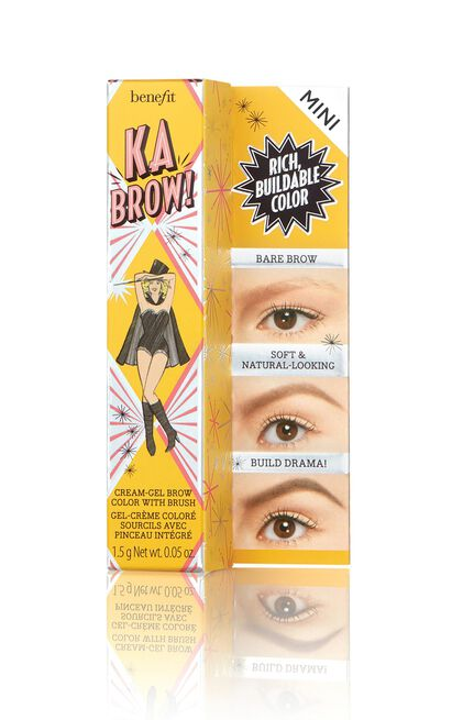 Benefit Cosmetics - Ka-BROW! Eyebrow Cream-Gel Colour Mini in 3.5 - Neutral Medium Brown, Brown, hi-res image number null