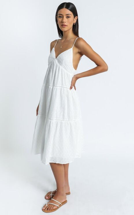 California Dress in White
