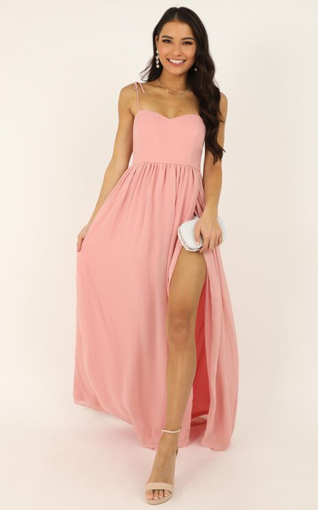 My Decision Dress In Blush