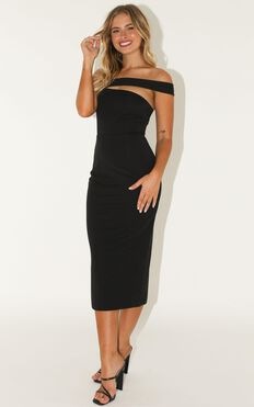 Never Lose Sight Dress In Black