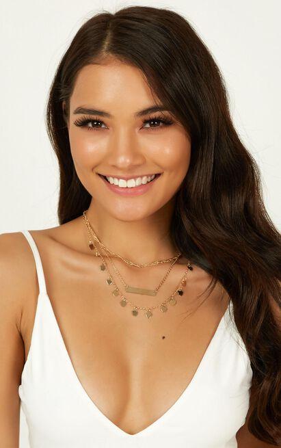 Love Like Sunshine Necklace In Gold, , hi-res image number null