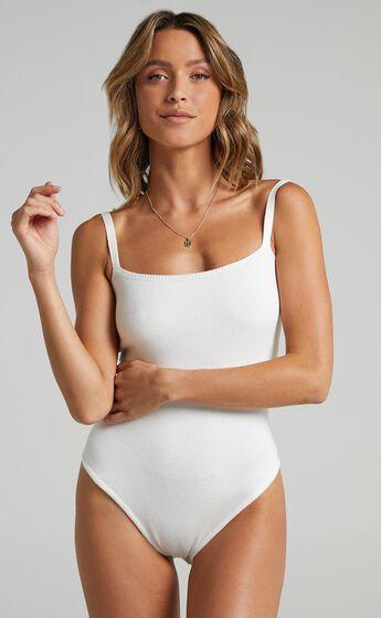 Mackay Bodysuit in Cream