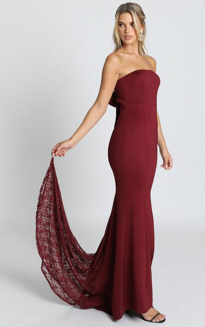 Always Will Love You Dress in wine - 20 (XXXXL), Wine, hi-res image number null