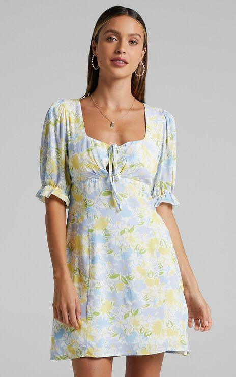 Svana Dress in Summer Petals