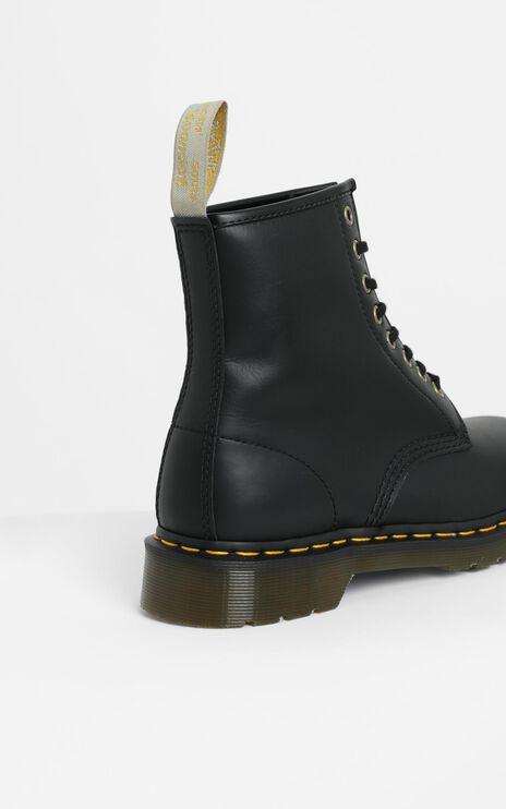 Dr. Martens - 1460 Vegan 8 Eye Boot in Black