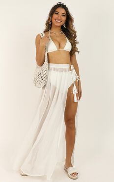California Dreaming Skirt In White