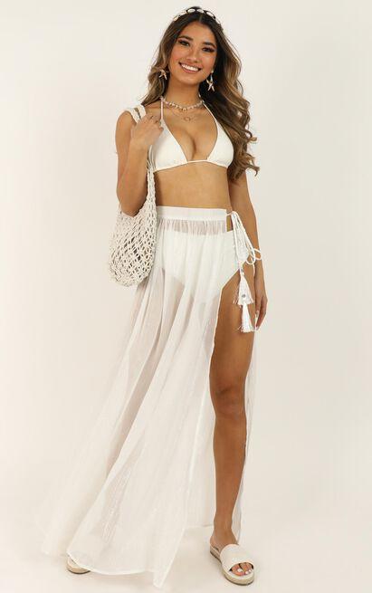 California Dreaming Skirt In white - 20 (XXXXL), White, hi-res image number null