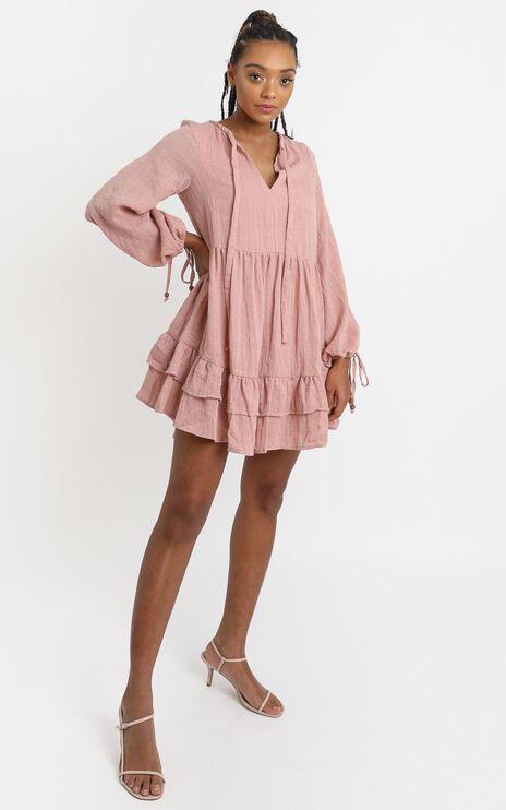 Carys Dress in Pink