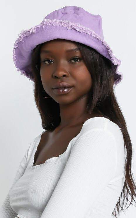 Mersa Hat in Lilac