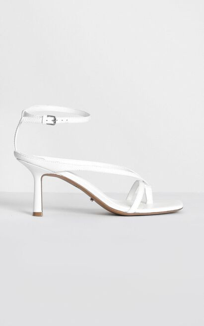 Tony Bianco - Becca Heels in white kid - 10, White, hi-res image number null