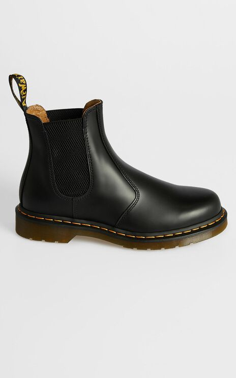 Dr. Martens - 2976 YS Chelsea Boot in Black Smooth