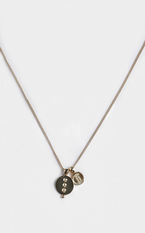 Minc Collections - Breeze Pendant Necklace In Gold