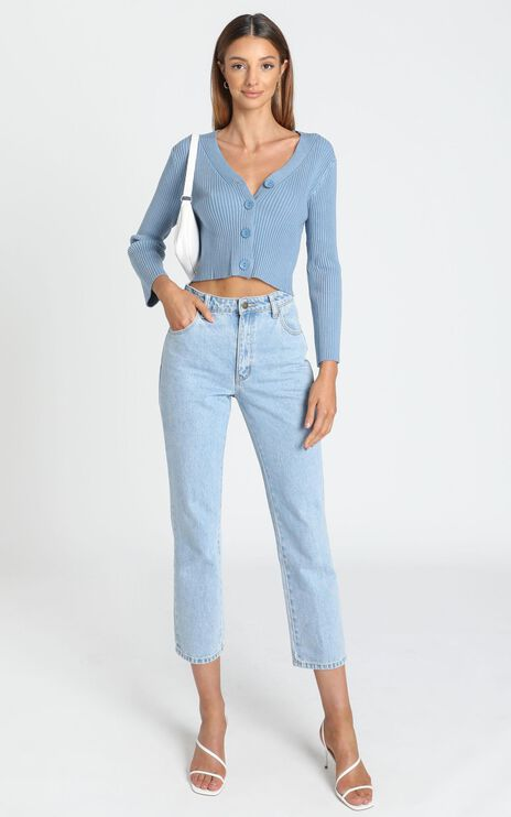 Christina Cardigan in Blue