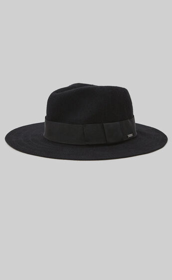 Brixton - Joanna Packable Hat in Black