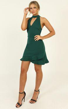 Still Feel It Dress In Green