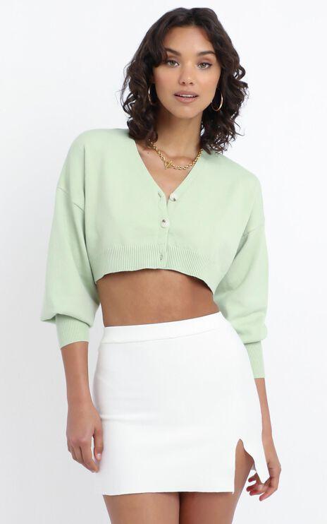 Kiley Knit Skirt in White