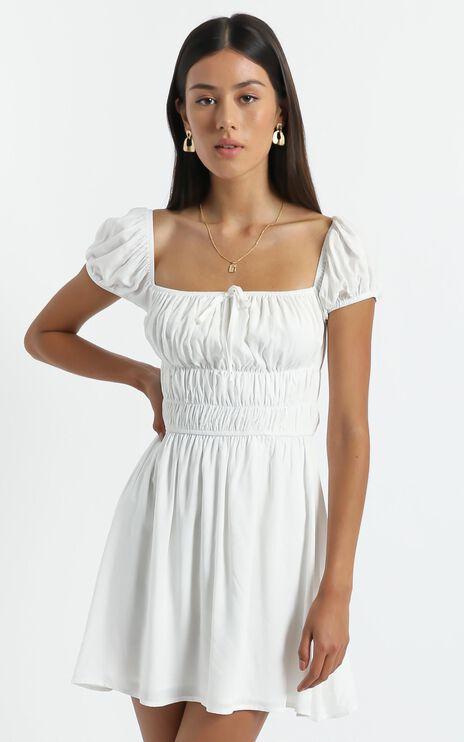 Aiyla Dress in White