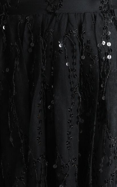 Watch The Queen Conquer Dress in black sequin - 14 (XL), Black, hi-res image number null
