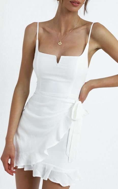Hunter Dress in White