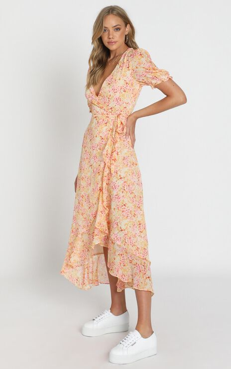 Norwich Dress In Pink