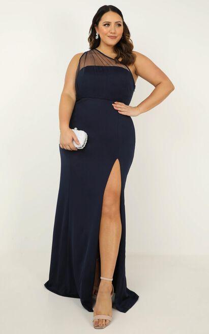 Proposing love dress in navy - 20 (XXXXL), Navy, hi-res image number null
