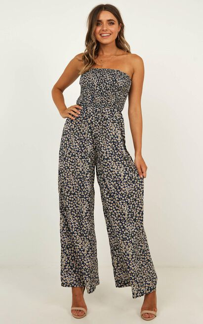 Jump All Around Jumpsuit in navy - 20 (XXXXL), Navy, hi-res image number null
