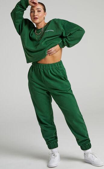 Sunday Society Club - Maddie Sweatpants in Green