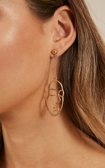Addicted To You earrings in gold, , hi-res image number null