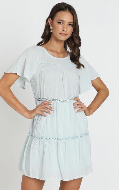 Brynn Dress in sage - 14 (XL), Sage, hi-res image number null