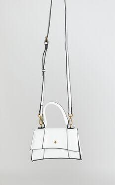 Peta And Jain - Brandy Mini Bag In White Croc