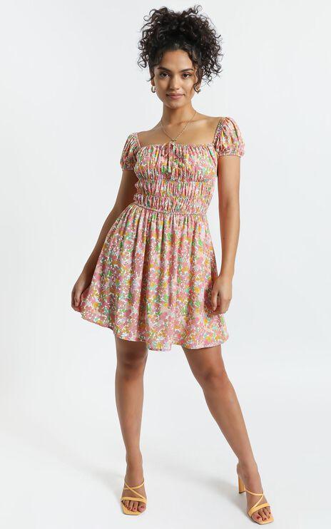 Aiyla Dress in Flower Field