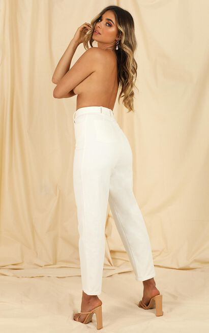 Sheila Jeans In white denim - 20 (XXXXL), White, hi-res image number null