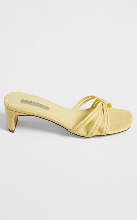 Billini - Siana Heels in Lemon Croc