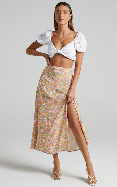 Talitha Skirt in Flower Field