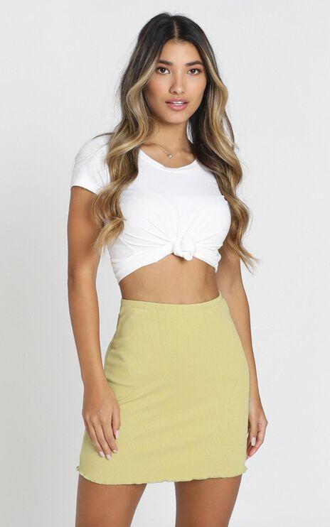 Lili Skirt in green