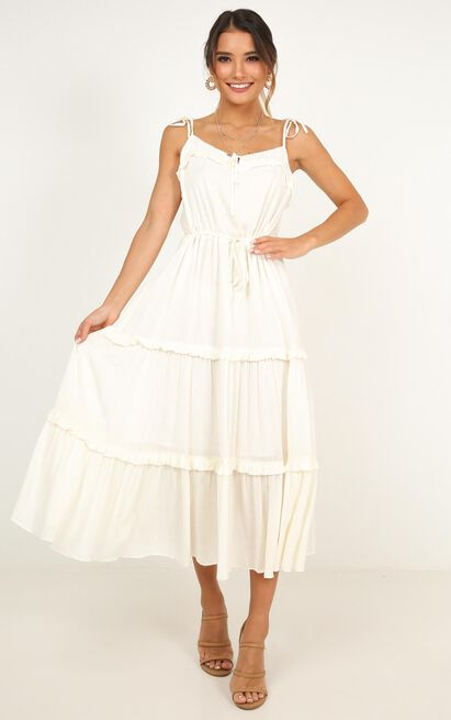 Wild Vibes Dress in cream - 20 (XXXXL), Cream, hi-res image number null