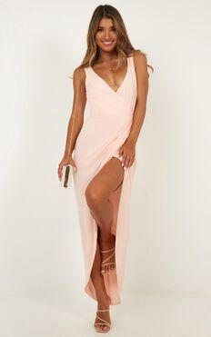 So Romantic Dress In Blush