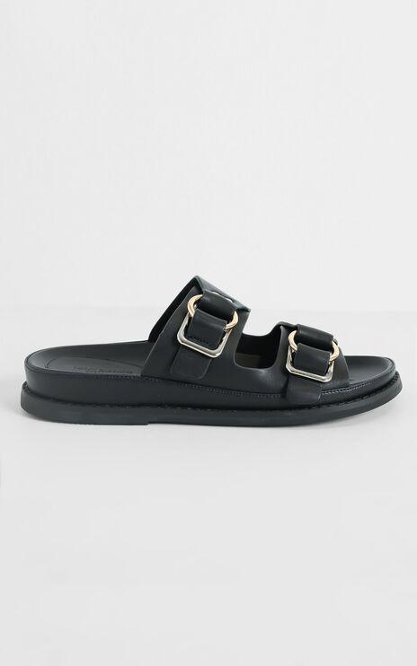 Tony Bianco - Hunter Sandals in Black Como
